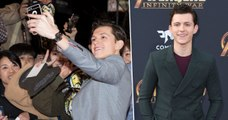 TOM HOLLAND saves a fan in real life !