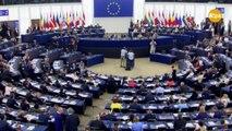 Ska Keller recorda Junqueras al ple de constitució del Parlament Europeu