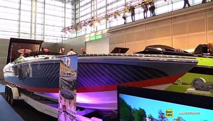 2018 Cigarette Racing 39 Top Gun Unlimited 1130hp Racing Boat - Walkaround - 2019 Boot Dusseldorf