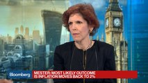 Mester Says the Fed Won't Be Politicized by Trump's Picks