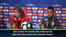 "Copa America - Gareca : ""Nous sommes motivés et plein d'espoir"""