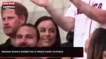 Meghan Markle snobée par le prince Harry en public (Vidéo)