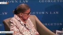 Ruth Bader Ginsburg Praises Brett Kavanaugh
