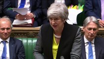 Corbyn is 'all mouth and trousers' says May