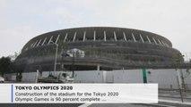 Tokyo 2020 Olympics stadium 90 percent complete
