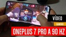 Jugando en el OnePlus 7 Pro a 90 Hz