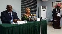 Conférence de presse de madame DANIELLE BONY CLAVERIE relative à la situation sociopolitique actuelle