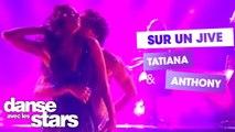 """DALS S08 - Tatiana Silva et Anthony Colette pour un Jive sur """"Maniac"""" de Michael Sembello"""