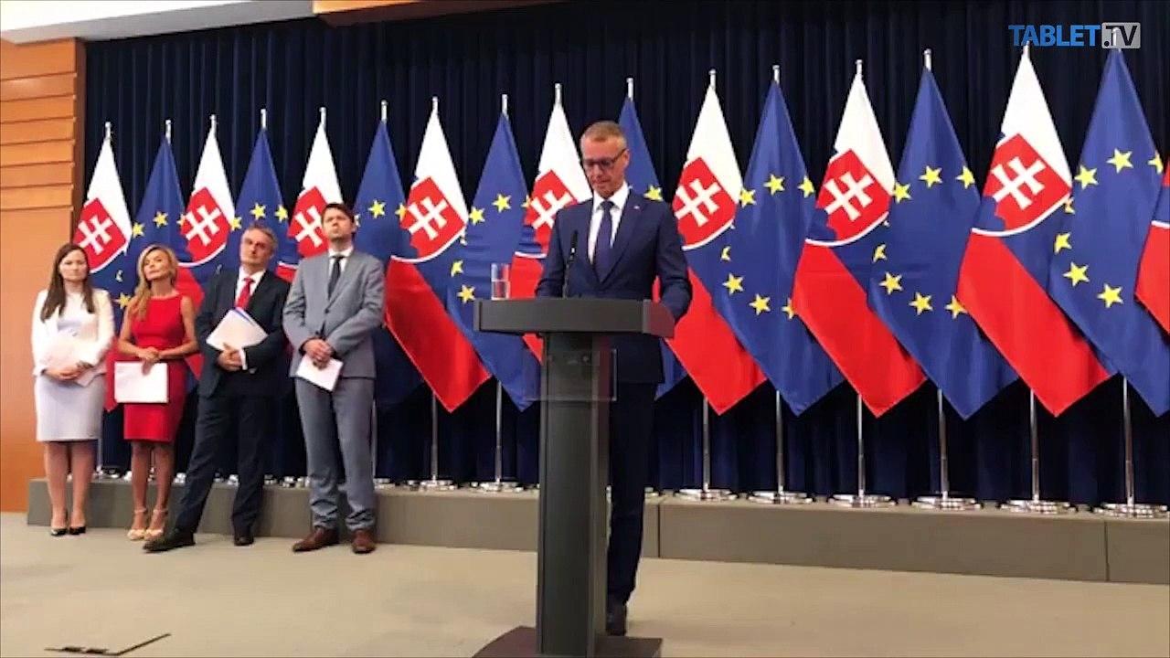ZÁZNAM: TK podpredsedu vlády SR pre investície a informatizáciu Richarda Rašiho