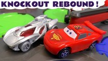 Hot Wheels Rebound Race with Disney Pixar Cars 3 Lightning McQueen and Marvel Avengers 4 Endgame and DC Comics Superheroes with Toy Story 4 Zurg
