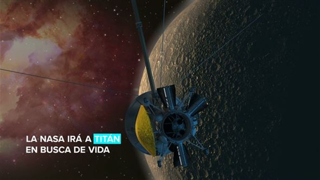 El próximo destino de la NASA es Titán