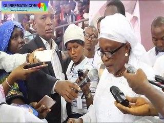 Oraison funèbre du maire Taran Diallo, par Mme Touré Hadja Fanta Camara, secrétaire générale de la commune de Ratoma