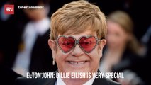 Elton John Sees Something Special In Billie Eilish