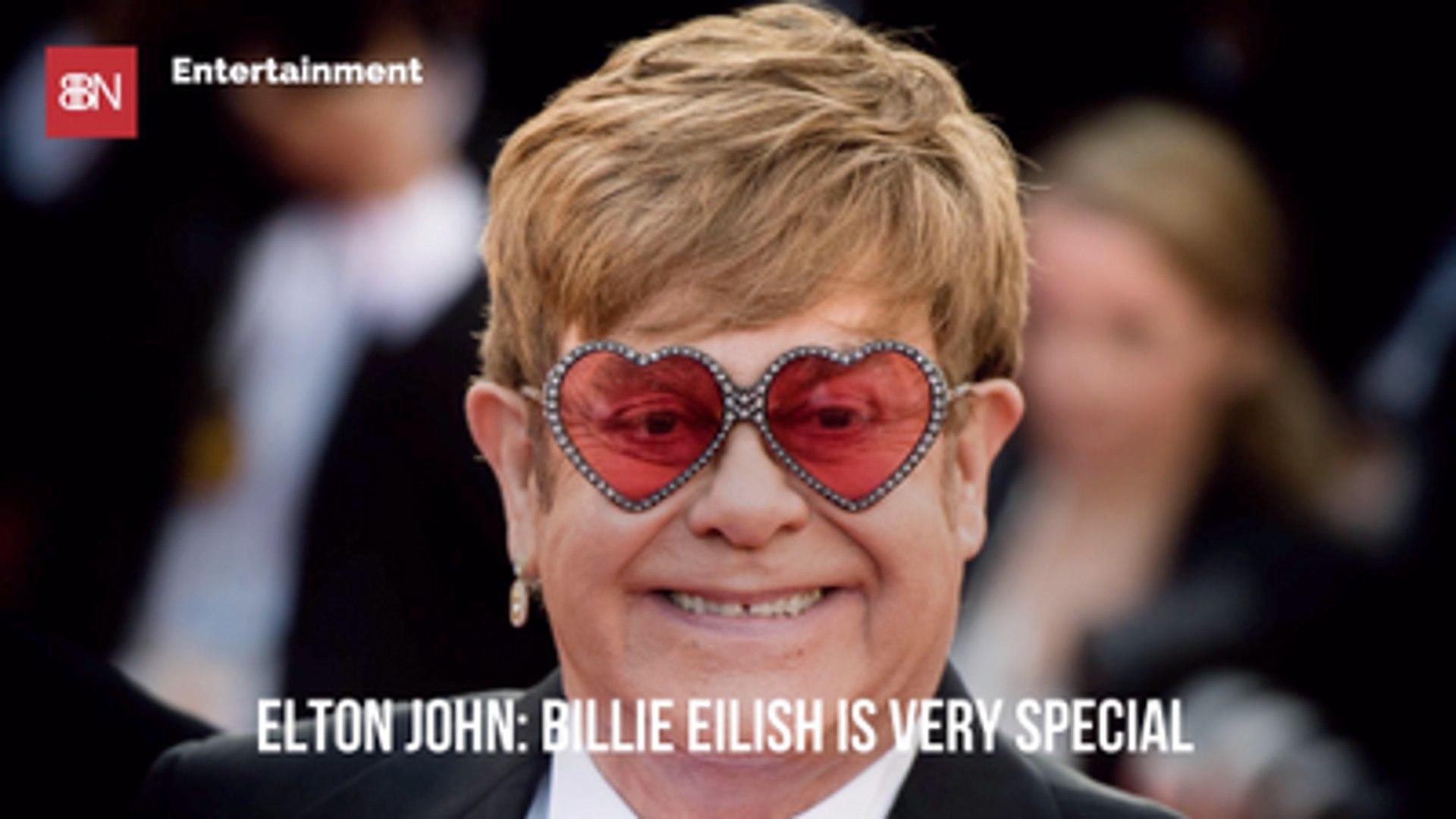 Elton John Sees Something Special In Billie Eilish