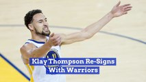 Klay Thompson Gets A Sweet Deal With The Golden State Warriors
