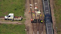 Two railway workers killed after being hit by train