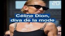 Céline Dion, diva de la mode