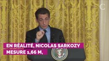 PHOTOS. Nicolas Sarkozy, plus grand que Carla Bruni en une de...