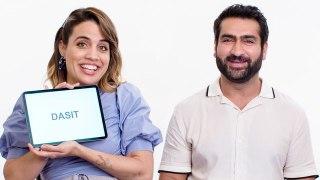 Kumail Nanjiani & Natalie Morales Teach You Urdu and Miami Spanish Slang