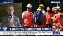 La ligne TGV France-Italie coupée jusqu'à fin juillet