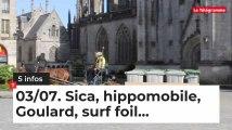 Le Tour de Bretagne en 5 infos - 03/07/19 : Sica, Goulard, poubelles…