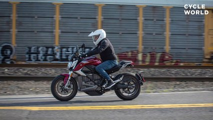 2020 Zero SR/F Electric Motorcycle First Ride