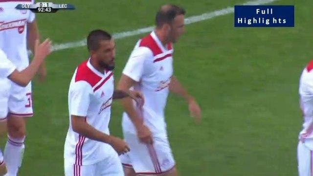 1-1 Guerrero Goal - Lechia Gdansk 1-1 Olympiakos Piraeus 03.07.2019