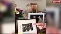 Jean-Claude Gaudin et ses photos souvenirs