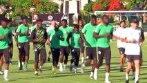 Nigeria train ahead of AFCON last 16 clash with Cameroon