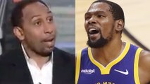 Stephen A Smith Calls Kevin Durant A SNAKE & KD Fires Back Calling BS!
