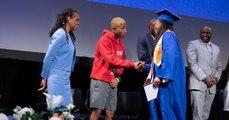 Pharrell Williams Promises Internships to 2019 Graduates of Harlem Charter School
