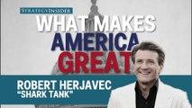 'Shark Tank' star Robert Herjavec explains what makes America great