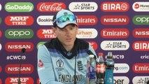 England's Eoin Morgan post win v New Zealand