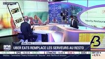 Les coulisses du biz: Uber Eats remplace les serveurs au restaurant - 03/07
