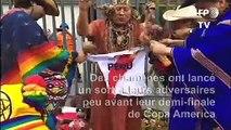 Demi-finale de Copa America: des chamanes aident le Pérou en ensorcelant le Chili