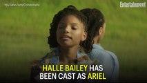 Disney's Live-Action The Little Mermaid Casts Halle Bailey as Ariel