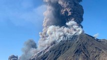 Volcano on Italian island of Stromboli erupts and kills at least one tourist
