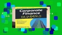 Corporate Finance For Dummies  Best Sellers Rank : #5