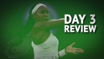 Day 3 Review - Djokovic cruises as Gauff continues to shine