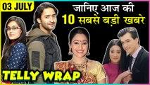 Dayaben REPLACEMENT, Zain Imam On Zaira Wasim, Charu Asopa & Rajeev Sen HONEYMOON   Top 10 News