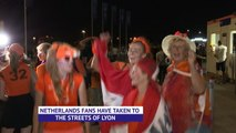Dutch fans delight over semi-final victory