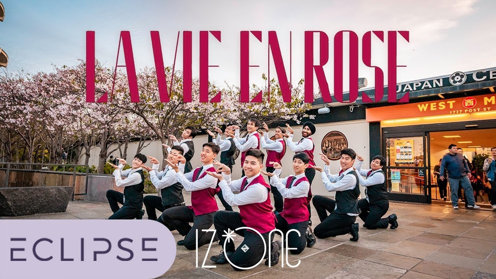 [KPOP IN PUBLIC] IZ ONE (아이즈원) - La Vie en Rose (라비앙로즈) Full Dance Cover (Boys Version) [ECLIPSE]