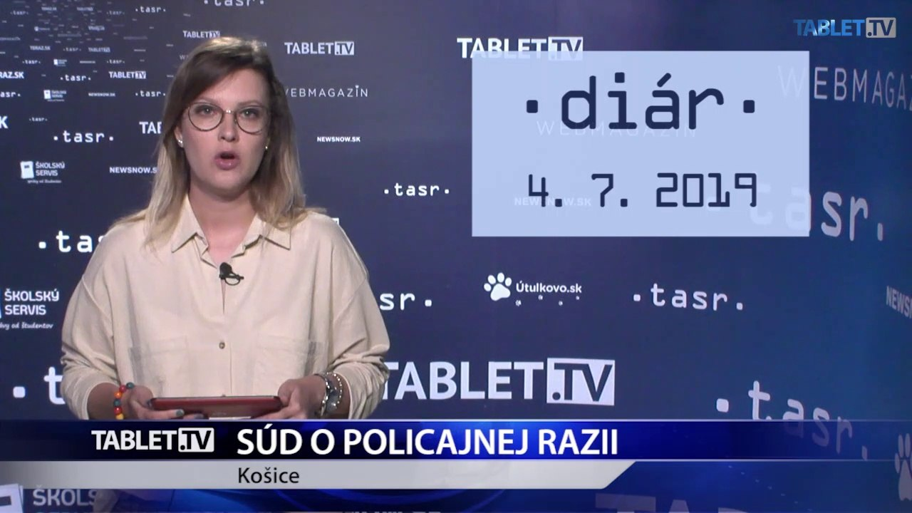 DIÁR: Na súde v Košiciach bude pojednávanie s obeťami policajnej razie