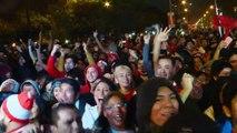 Copa America: Peru fans celebrate stunning victory over Chile