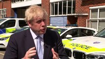 Boris promises to boost police numbers if he becomes PM