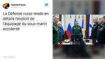 Incendie dans un sous-marin russe : Le feu a démarré dans le compartiment à batteries