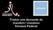 [INTRANET FFH] Traiter une demande de transfert-mutation