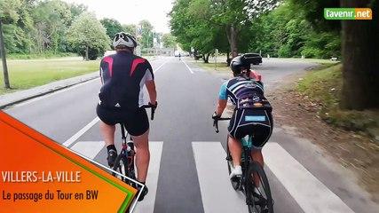 Villers-la-Ville - Le passage du Tour en BW