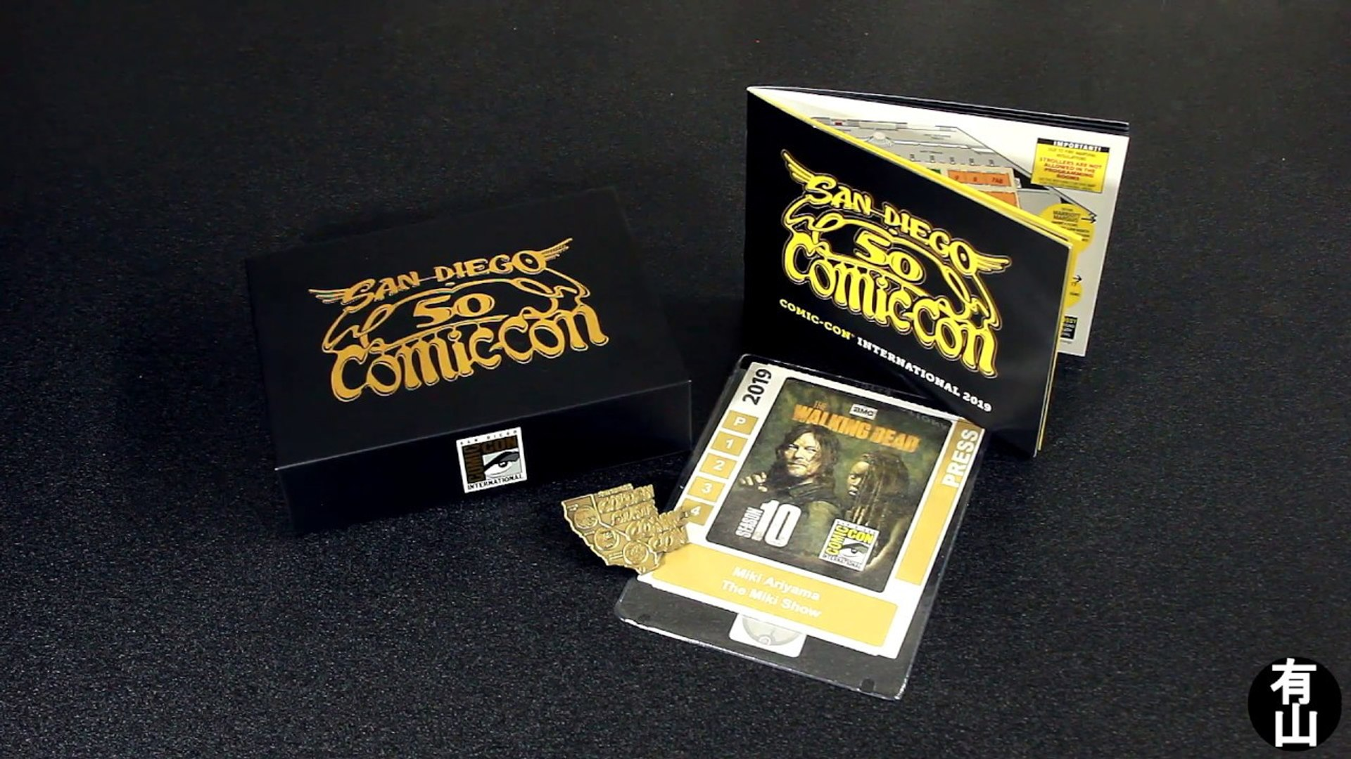 San Diego Comic Con 2019 Badge Unboxing