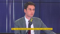 """SNU : """"Je me suis déplacé, j'ai dormi dans des dortoirs"""" affirme Gabriel Attal"""